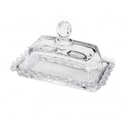 Manteigueira Cristal Pearl