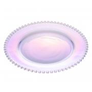 Prato Pearl Cristal Rainbow 28 cm