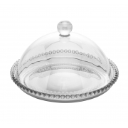 Queijeira Pearl Cristal 20 x 12 cm