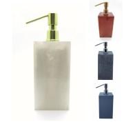 Saboneteira Líquida Quadrada Diversas Cores - Polido