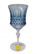 Taça Vinho Tinto lapidação 69 Azul Claro - unidade