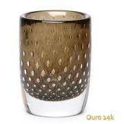 Vaso Cilind. 3 Tela Fm C/ Ouro-e 17434 Cadoro
