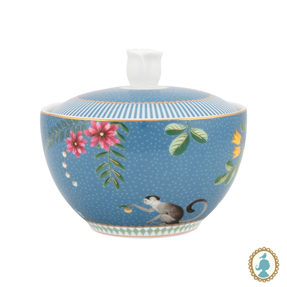 Açucareiro Porcelana Azul  La Majorelle - Pip Studio