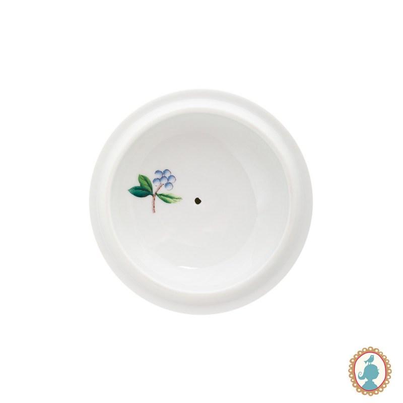 Açucareiro Porcelana Branco Blushing Birds - Pip Studio