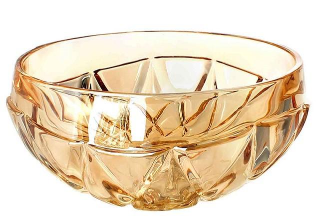 Bowl de Vidro Âmbar 0192