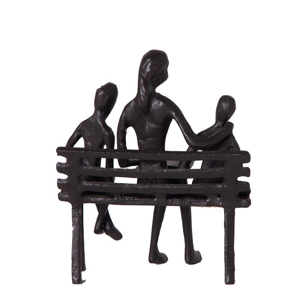Escultura Banco Leitura para crianças em Metal