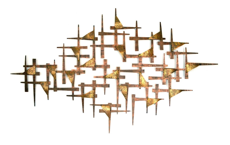 Escultura de Parede Metal Point