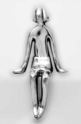 Escultura Menina Sentada 201037