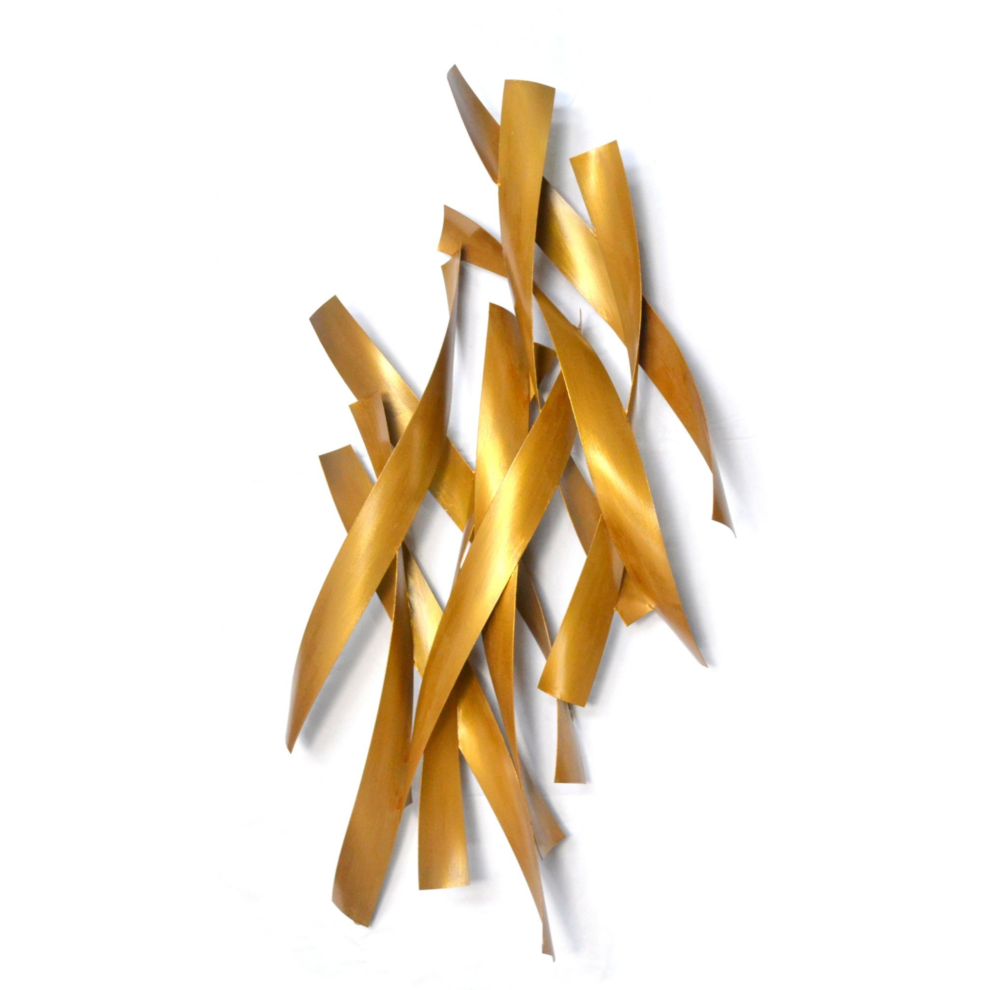 Escultura Painel Wave em Metal
