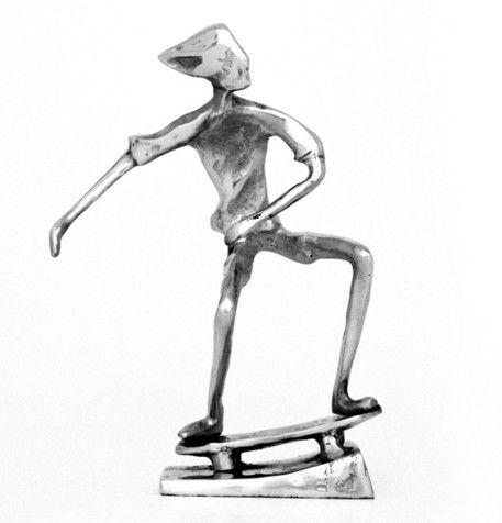Escultura Skate 8024