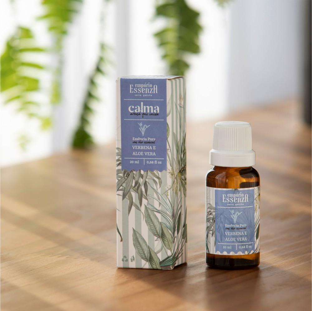 Essência Pura Verbena e Aloe Vera - Calma 20 ml