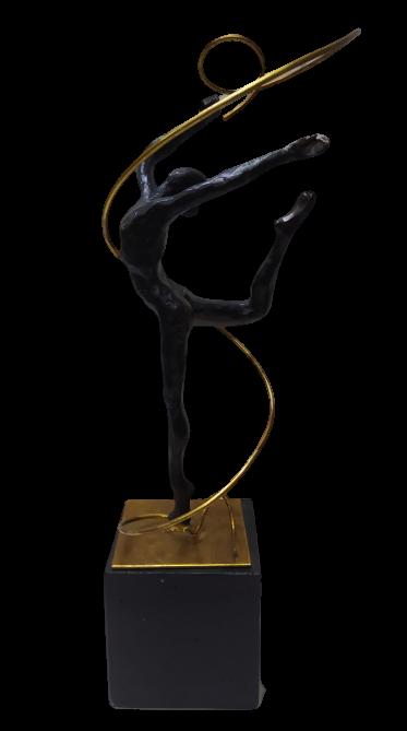 Estatua Resina Gymnastics Bron
