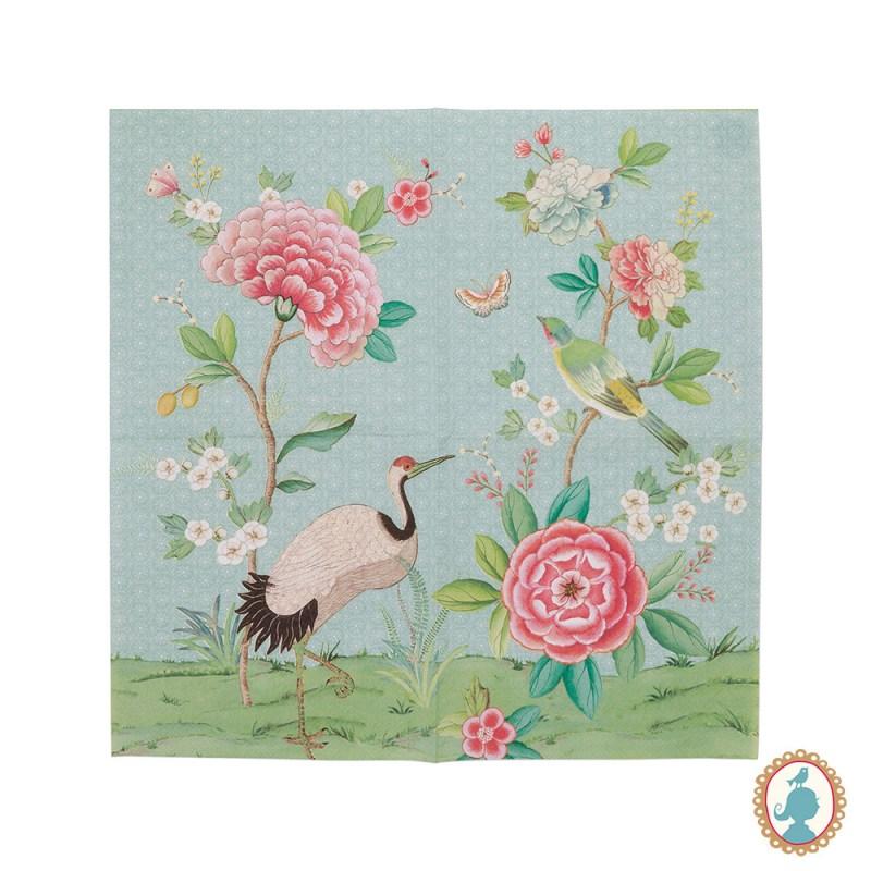 Guardanapos Blushing Birds 20 Unid 16 x 16 - Pip Studio