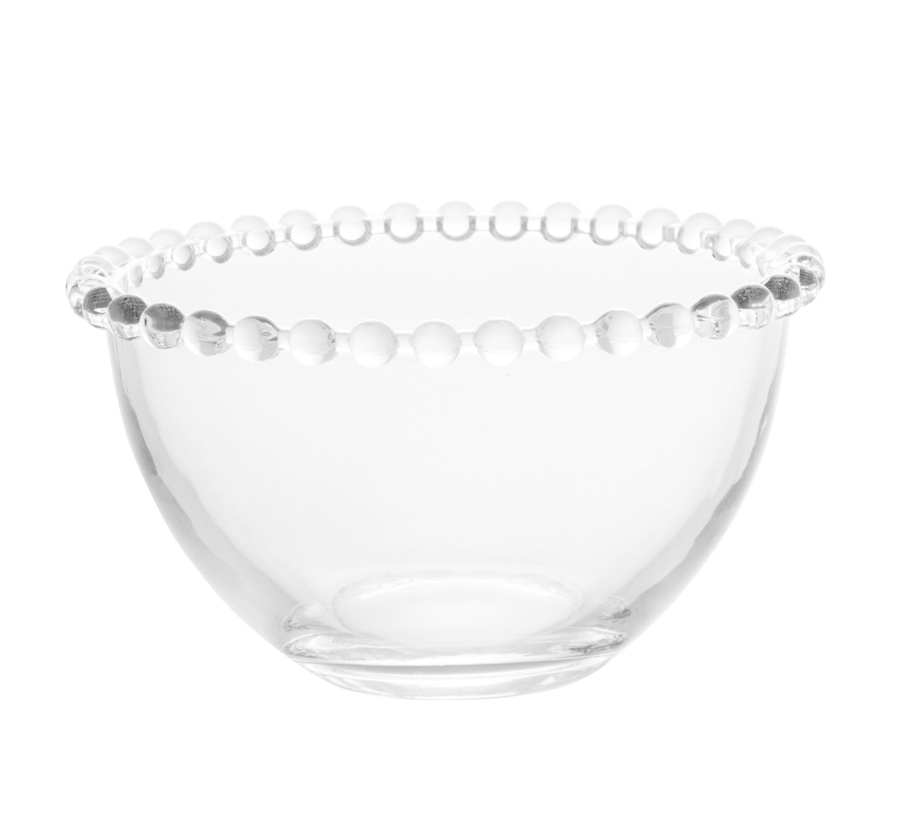 Jogo 4 Bowls Cristal Pearl 14 x 8 cm