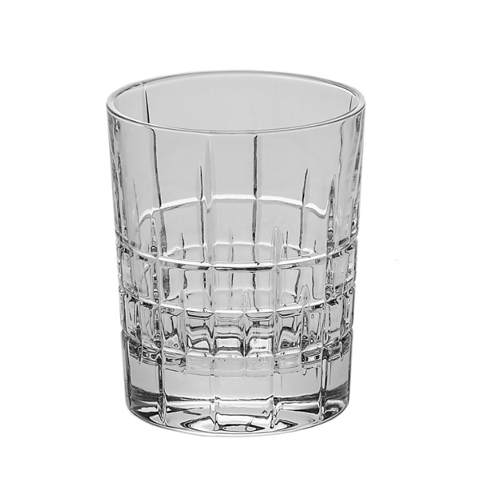 Jogo 6 Copos Ricky Baixos Cristal de Chumbo 340 ml