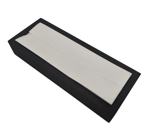 Kit 8 Pacotes Papel Toalha Lavabo Relevo 200 Unid - Clássico