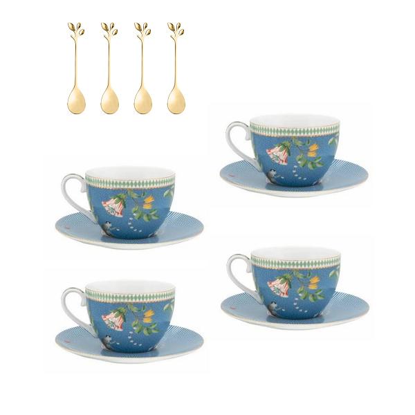 Kit - Chá La Majorelle com colheres