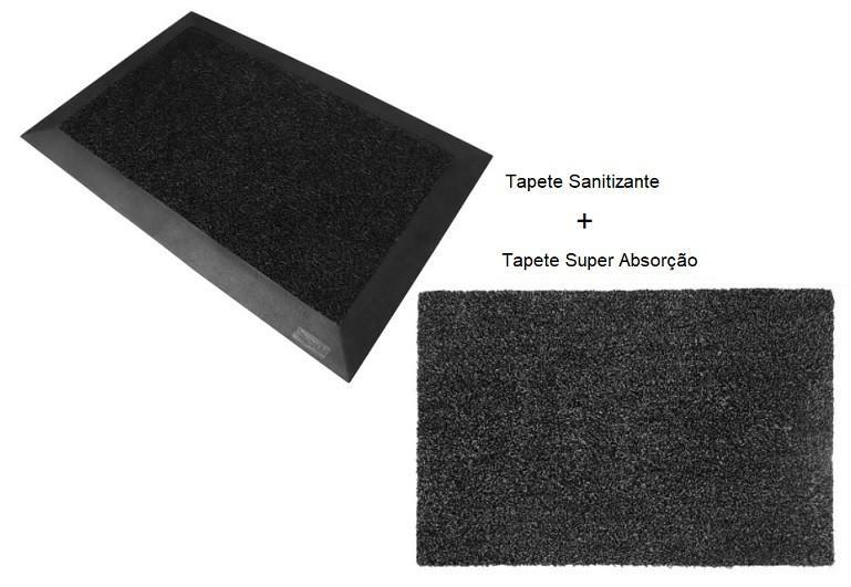 Kit Tapete Sanitizante e Super Absorção