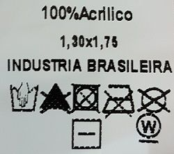 Manta Croco 130x175 Marrom Ferro
