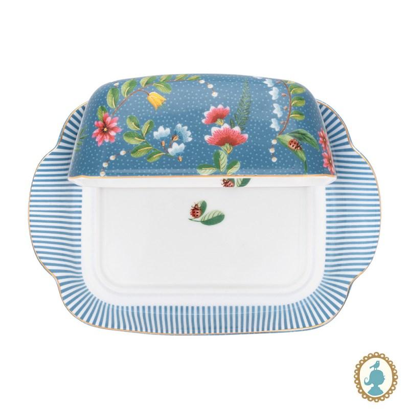 Manteigueira Porcelana Azul  La Majorelle - Pip Studio