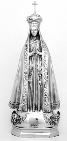 Nossa Senhora Aparecida Gg Com Cristal 1209