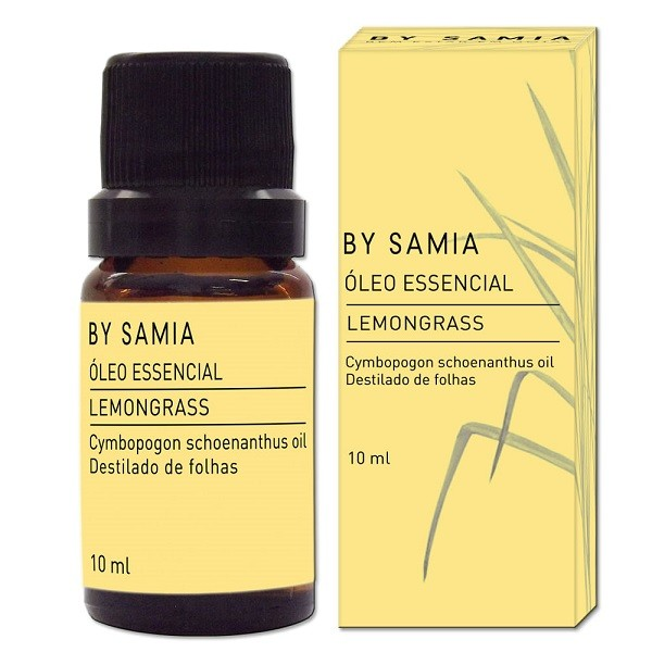 Óleo Essencial de Lemongrass 10 ml By Samia
