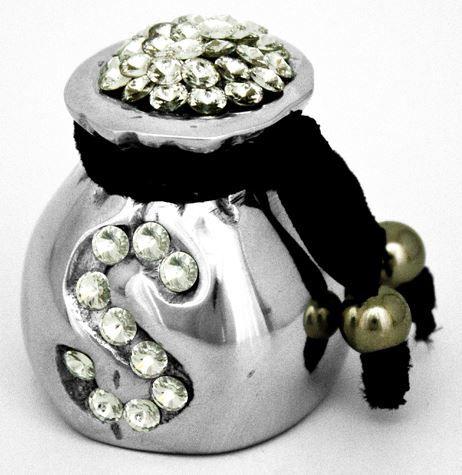 Peso Cifrão Com Cristal 651