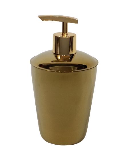 Porta Sabonete Líquido Spa Dourado