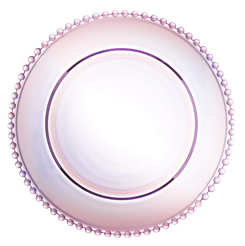 Prato Pearl Cristal Rainbow 20 cm