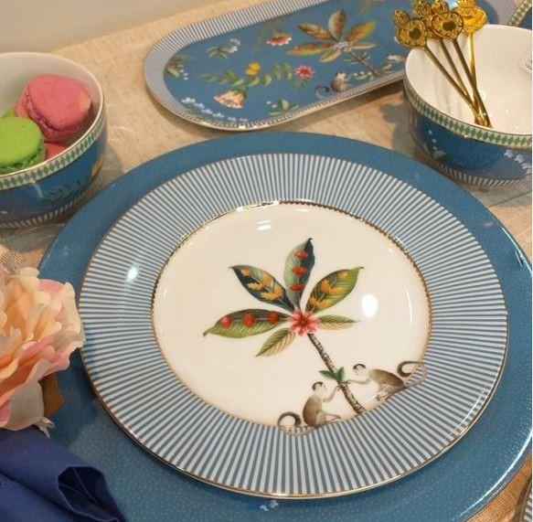 Prato Sobremesa Azul La Majorelle Pip Studio