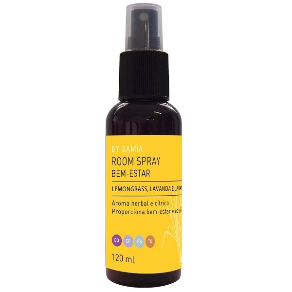 Room Spray Bem Estar - 120 ml By Samia