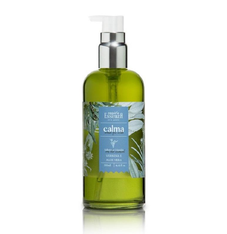 Sabonete Líquido c/ Óleo Essencial - Calma Verbena e Aloe Vera