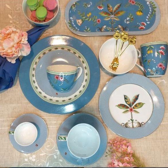 Set 2 Xícaras Chá Azul La Majorelle Pip Studio