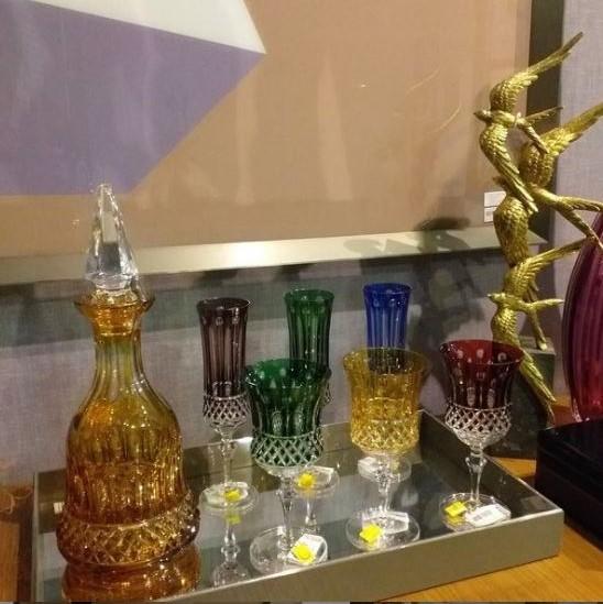 Taça Vinho Tinto lapidação 69 Âmbar - unidade