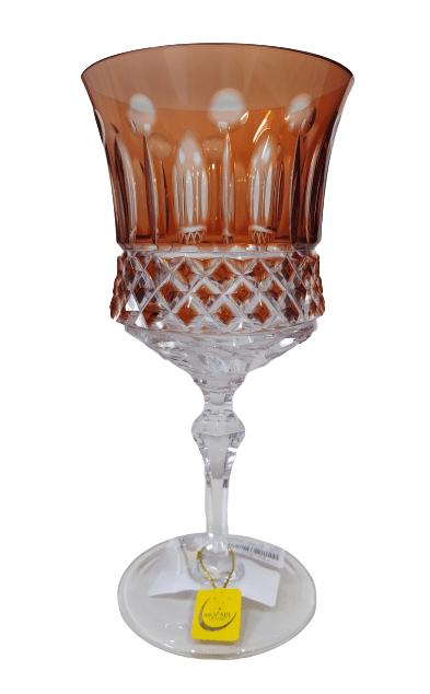 Taça Vinho Tinto lapidação 69 Rubi - unidade