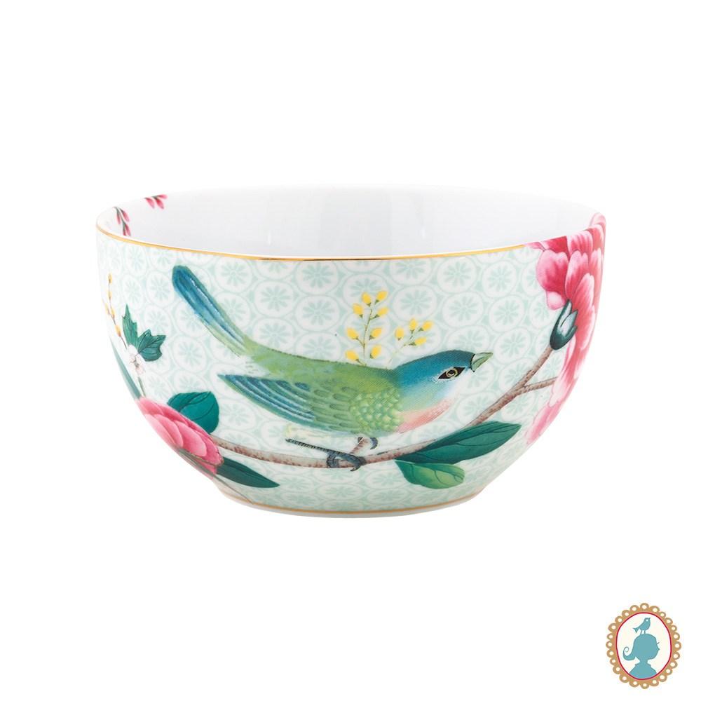 Tigela Porcelana Branca 12  Blushing Birds - Pip Studio