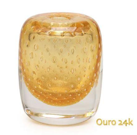 Vasinho Quad. 3 Tela com Ouro