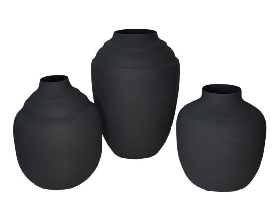 Vaso Metal Feng Black