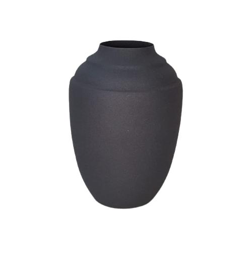 Vaso Metal Ming Black