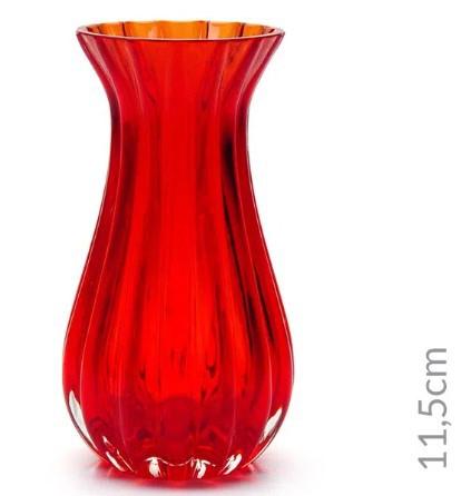 Vaso Mini Vermelho Translúcido