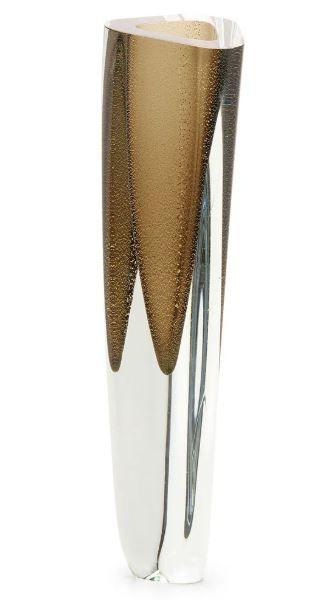 Vaso Triang.1 Fm C/ Ouro-e 17186 Cadoro