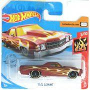 1971 El Camino HW Flames 164 Hot Wheels