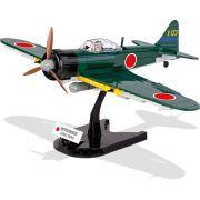 """Avião Mitsubishi A6M3 """"Zero"""" Blocos de Montar 265 Peças Cobi"""