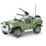 Jeep Wrangler Blocos de Montar 250 Peças Cobi