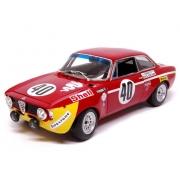 Miniatura Alfa Romeo GTA 1300 Junior Picchi/Chasseuil 1/18 Minichamps