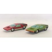 Miniatura Alfa Romeo P 33 Carabo Bertone 1/43 Dinky Toys