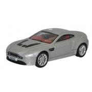 Miniatura Aston Martin V12 Vantage S Silver 1/76 Oxford