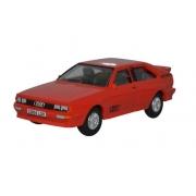 Miniatura Audi Quattro Tornado Red 1/76 Oxford