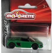 Miniatura Audi R8 Roadster Street Cars 1/64 Majorette