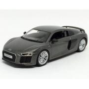 Miniatura Audi R8 V10 Plus Cinza 1/24 Maisto